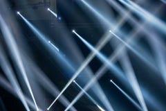 Rayons de lumière pointus Photos libres de droits