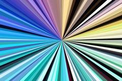 Rayons de lumi?re olographes de fond d'hologramme soleil éclaté illustration libre de droits