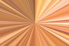 Rayons de mod?le de brun de poutre de fond café lumineux illustration stock