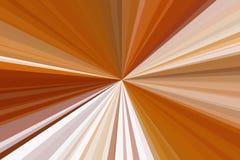Rayons de mod?le de brun de poutre de fond Cuprum illustration stock