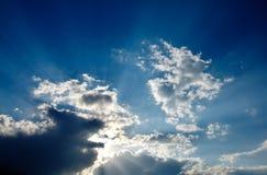 Rayons de soleil Photographie stock libre de droits