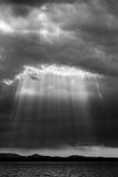 Rayons de soleil Image libre de droits