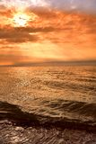Rayons de soleil de Beatifull photographie stock