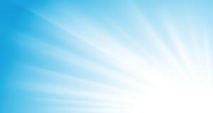 Rayons de soleil de vecteur illustration stock