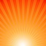 Rayons de Sun Photo stock