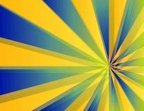 Rayons de Sun illustration de vecteur