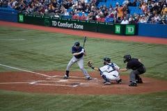 Rayons de Tampa Bay à Toronto Blue Jays Photo libre de droits