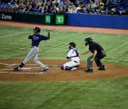 Rayons de Tampa Bay à Toronto Blue Jays Photographie stock libre de droits