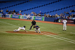 Rayons de Tampa Bay à Toronto Blue Jays Photos stock