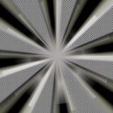 Rayons du soleil de l'espace Photos stock