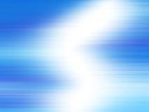 Rayons légers bleus Image libre de droits