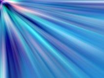 Rayons légers multicolores Images libres de droits