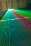 Rayons laser de couleur Image libre de droits