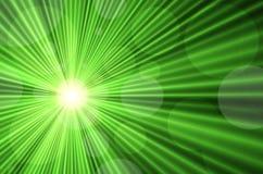 Rayons laser verts illustration libre de droits