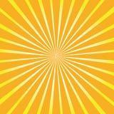 Rayons rayés par fond Image libre de droits