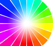 Rayos abstractos del espectro libre illustration
