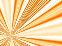 Rayos anaranjados Imagen de archivo libre de regalías