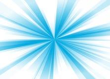 Rayos azules ilustración del vector