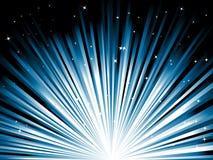 Rayos azules Imagenes de archivo