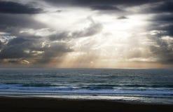 Rayos crepusculares Imagenes de archivo