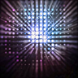 Rayos de dispersión Fotografía de archivo libre de regalías