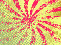 Rayos de Grunge Fotografía de archivo