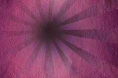 Rayos de Grunge - color de rosa Fotografía de archivo