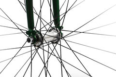 Rayos de la bicicleta imagenes de archivo