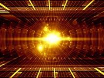 Rayos de la energía ilustración del vector