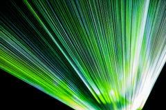 Rayos de la instalación de la luz Fotos de archivo