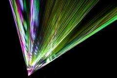 Rayos de la instalación de la luz Imágenes de archivo libres de regalías