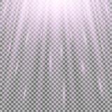 Rayos de la luz Fotos de archivo libres de regalías