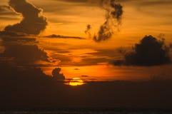 Rayos de la luz pasados Imagen de archivo libre de regalías