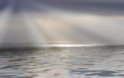 Rayos de la sol Foto de archivo libre de regalías