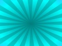 Rayos de la turquesa ilustración del vector