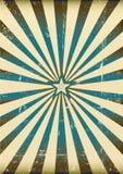 Rayos de sol azules ilustración del vector