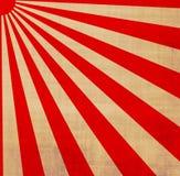 Rayos de sol japoneses del sol de levantamiento Imagenes de archivo