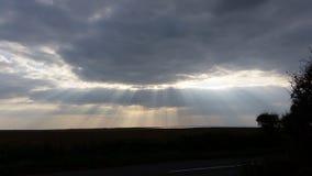 Rayos de Sun Imagen de archivo libre de regalías