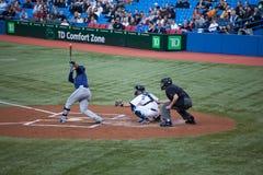 Rayos de Tampa Bay en Blue Jays de Toronto Imagen de archivo libre de regalías