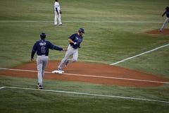 Rayos de Tampa Bay en Blue Jays de Toronto Foto de archivo
