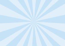 Rayos del azul de bebé Imágenes de archivo libres de regalías
