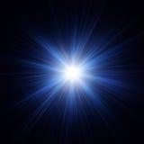 Rayos del ejemplo ligero colorido abstraiga el fondo Efecto luminoso del resplandor Foto de archivo libre de regalías