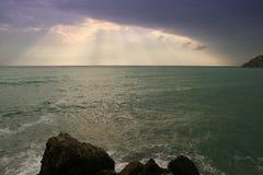 RAYOS DEL SOL Foto de archivo libre de regalías