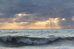 Rayos del sol. foto de archivo libre de regalías