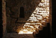 Rayos en las escaleras Imagen de archivo libre de regalías