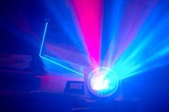 Rayos laser Fotografía de archivo libre de regalías