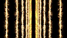 Rayos laser del color en fondo negro T?nel Rayos hermosos Animación ligera del trueno libre illustration