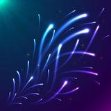 Rayos ligeros imagen de archivo