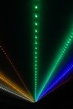 Rayos ligeros abstractos Imagen de archivo libre de regalías