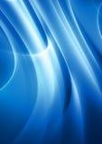 Rayos ligeros azules ilustración del vector